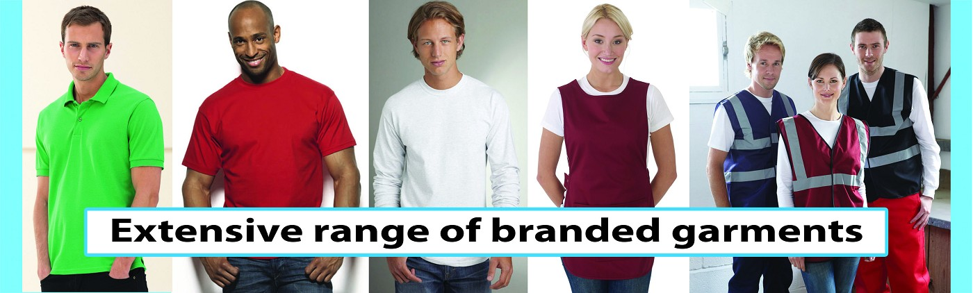 Stitch N Print Extensive Range of Branded Garments