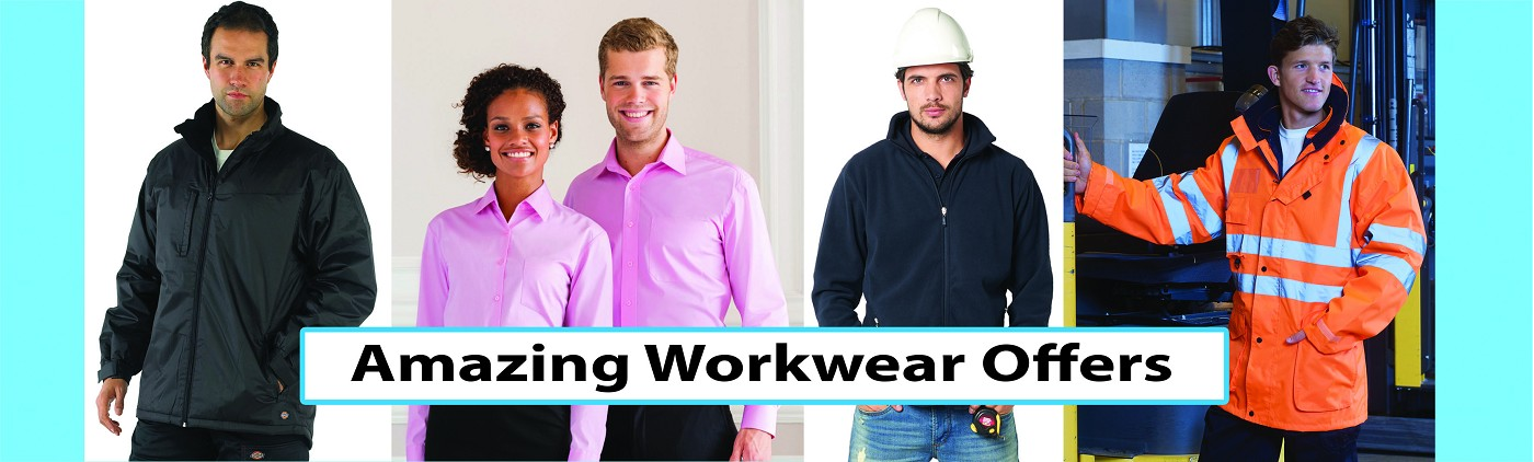 Stitch N Print Amazing Workwear Offers