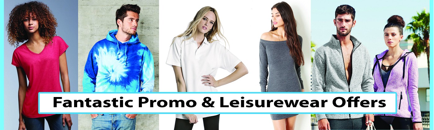 Stitch N Print Fantastic Promo & Leisurewear Offers